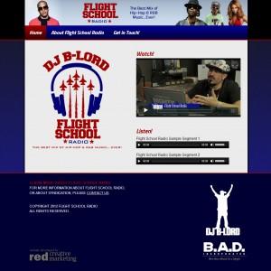After Photo - Flight School Radio Website