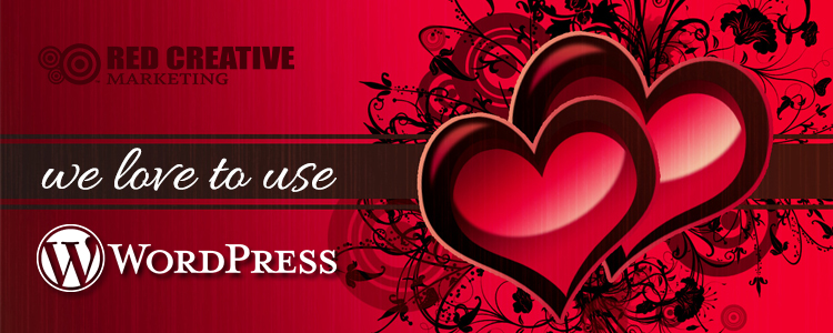 We Love to Use WordPress!